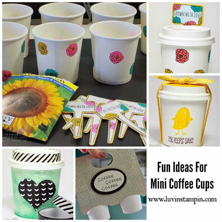 coffee cup craft ideas 115 best mini coffee cup ideas and template images on 3671