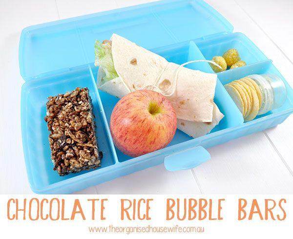Choc Rice Bubble Bars