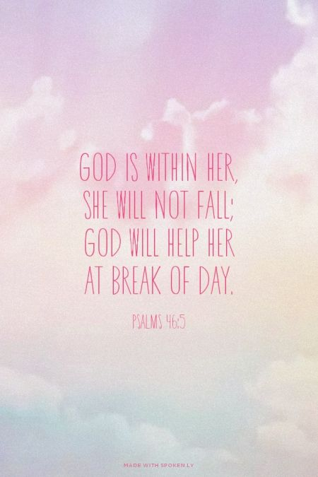 25+ best Psalm 46 5 ideas on Pinterest | Bible quotes, Faith bible verses and Bible scripture quotes
