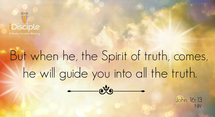 Spirit Of Truth Quotes: 1000+ Ideas About John 16 13 On Pinterest