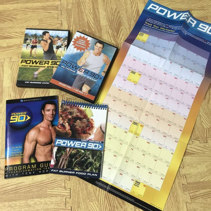 BeachBody POWER 90 IN-HOME BOOT CAMP & FAT BURNING SYSTEM With Extras | DVDs & Movies, DVDs & Blu-ray Discs | eBay!