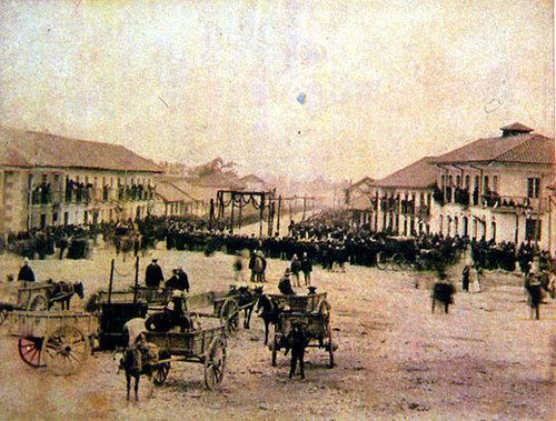 1895, San Victorino - Bogotá, Colombia