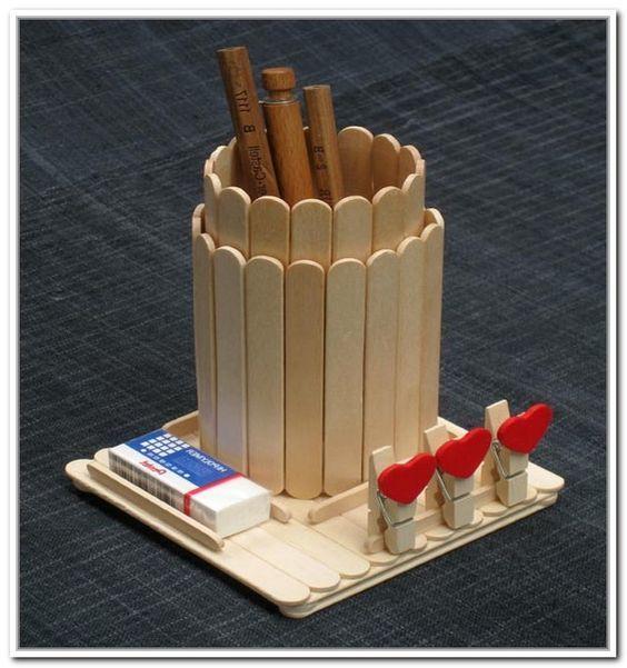 ideias para reciclar palitos sorvete 413x440