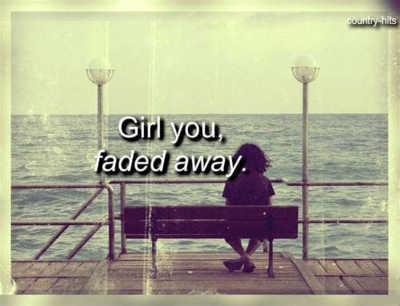 Faded away - Luke Bryan