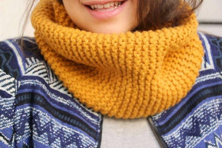Gracias a tutoriales como este le perderás el miedo al punto, ¿os animáis a hacer una bufanda? Es muy sencillita ¡manos a la obra!