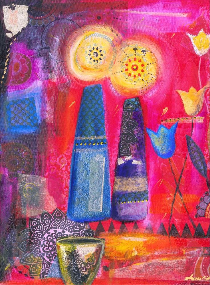 Kiddush, 2013, mixed media by Tuuli Levit