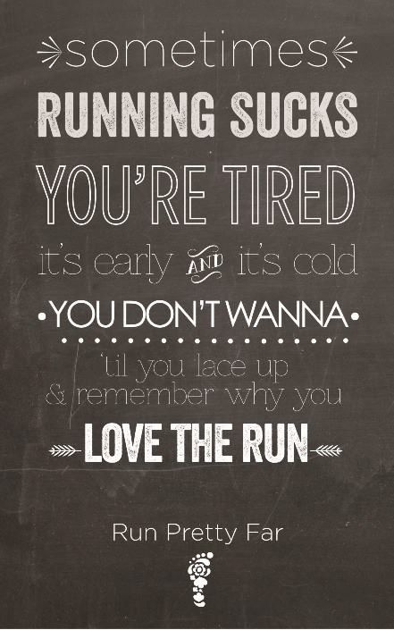 Sometimes #running sucks...