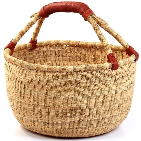 love these baskets from Ghana