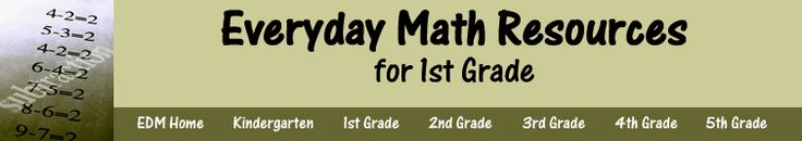 This page is to help teachers with SMART resources relating to Everyday Math.