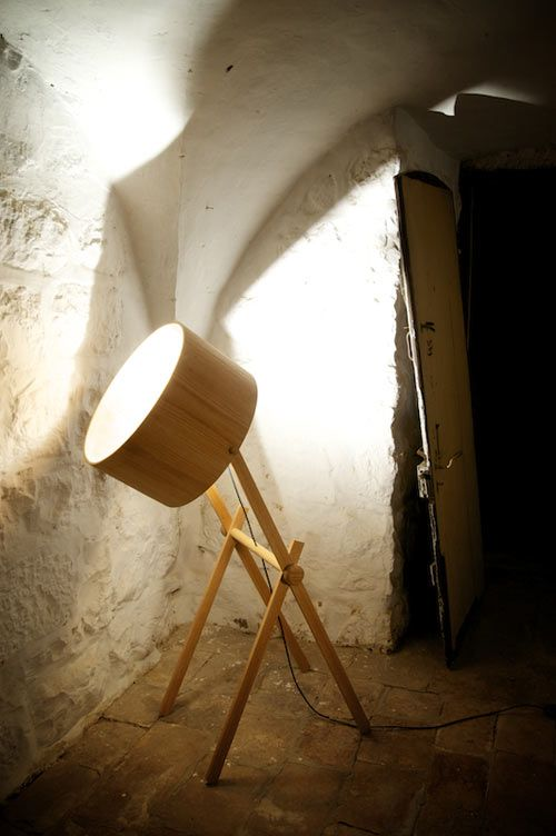 Wood Architect Lamp. See More. Asaf Weindroom
