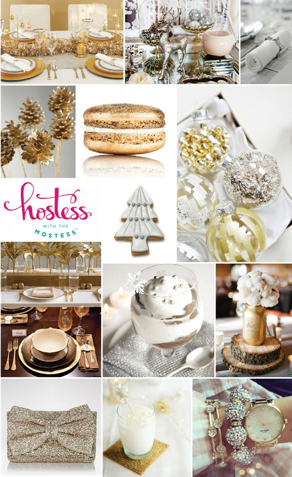 Bird's Party Blog: Christmas Party Ideas: 'Merry and Bright' by Hostess With The Mostess