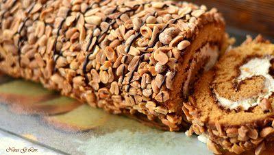 Моя копилка - Кухня: Рулет медовый с карамелью и арахисом