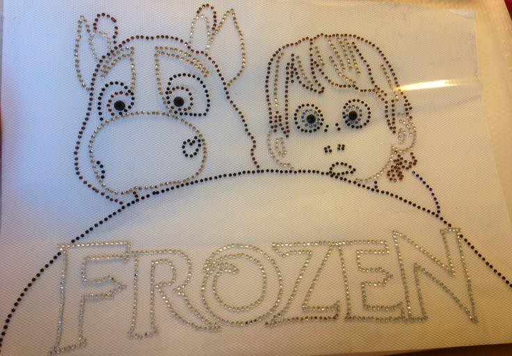 Hotfix stippelpatroon frozen 2