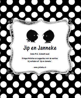 Thema Jip en Janeke op juf Anke