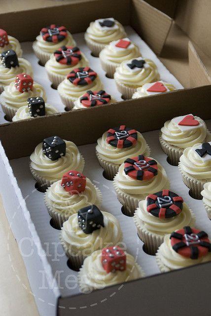 Casino Cupcakes | Inspired by Love & Sugar Bakeshop | Megan Stickings | Flickr
