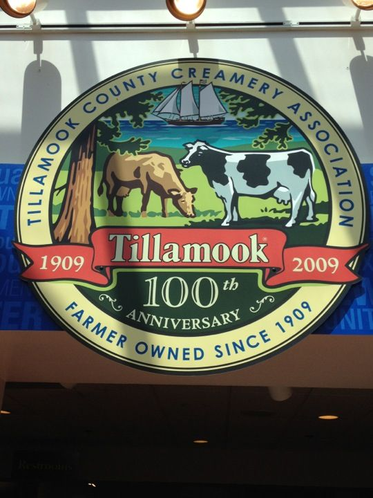 Tillamook Cheese Factory in Tillamook, OR. Vacationed in Oregon (2014) and stayed right up the coast from this famous attraction. Love their cheese!