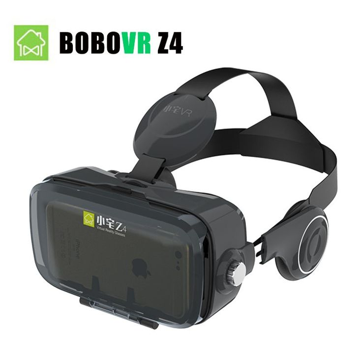 (Ship From US) BOBOVR Z4 and Z4 MINI 120 Degrees FOV 3D Virtual Reality Headset 3D Glasses Movie Video VR BOX with Headphone //Price: $24.69//     #shop