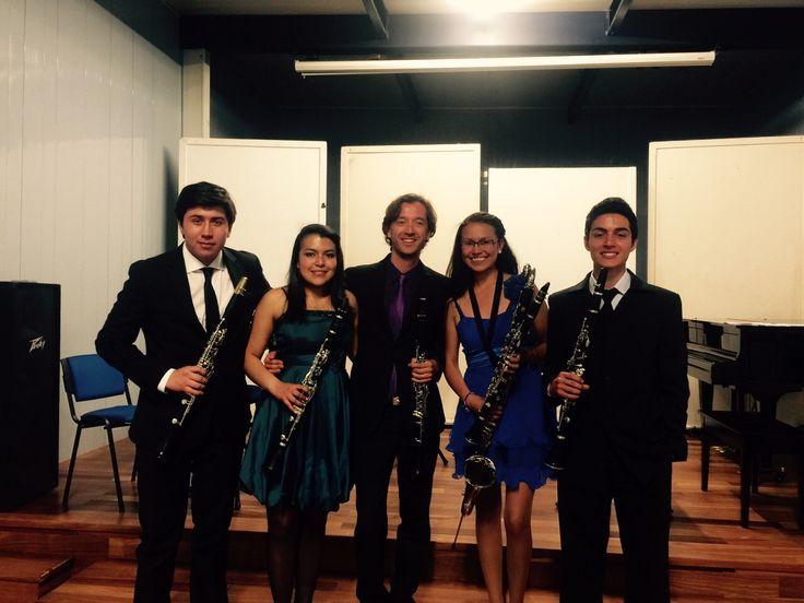 Quatuor de Clarinettes Candamil