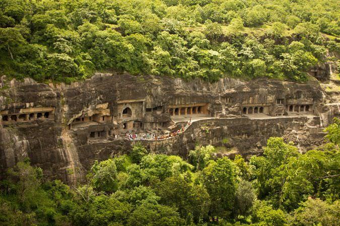 Las cuevas de Ajanta, Maharashtra