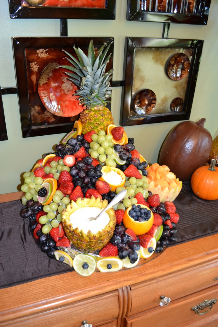 Our cascading fruit platter