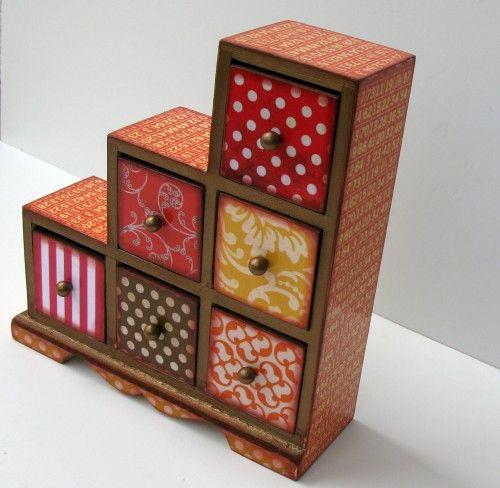 indian asymmetrical jewelry box!