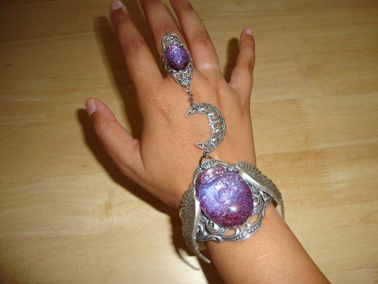 Slave bracelet Jewelry by Gothic artist Jessica Galbreth                                      http://buyjewelrydeals.com