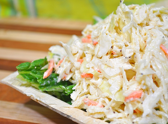 Dave's Famous Creamy Coleslaw...a staple for every BBQ! http://store.davesmarketplace.com/catering-to-go/simply-salads