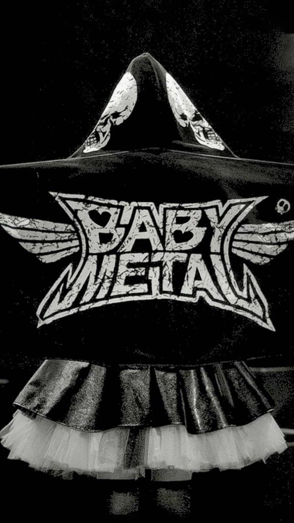BABYMETAL/かっこいいロゴ iPhone Wallpaper iPhone壁紙