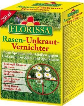 Mit Unkrautvernichter halten Sie Ihren Rasen schön! Bestellen Sie bei Westfalia wirksamen & rasenschonenden Unkrautvernichter von Florissa!