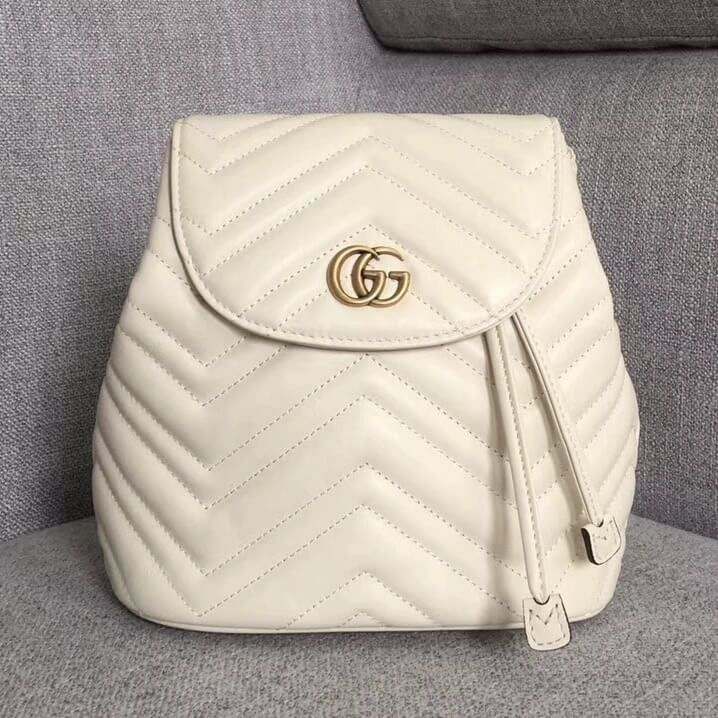 28e2a952409 Gucci GG Marmont Backpack 100% Authentic 80% Off