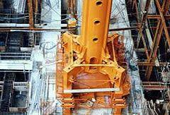 タワークレーン クライミング架台油圧式