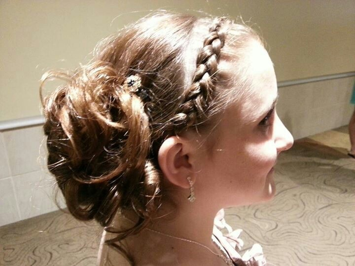 Wedding Hairstyles For Junior Bridesmaids : The best images about wedding ideas on