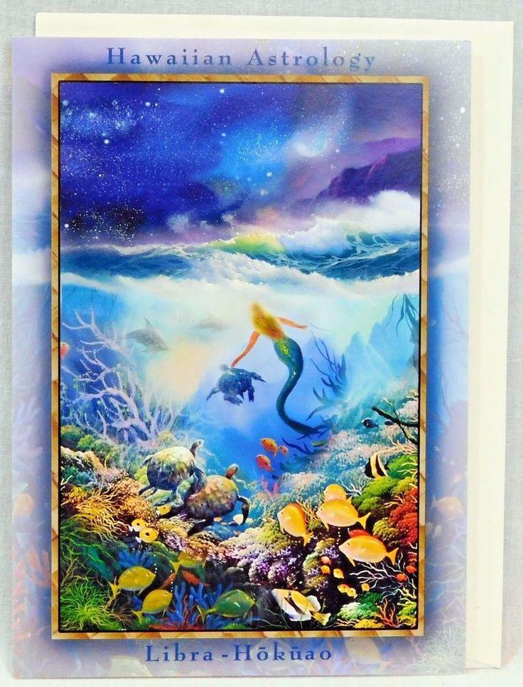 Hawaiian Astrology Greeting Cards Libra Hokuao September 22 - October 22