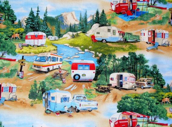 OMG if I get a cute little camper, I'm making curtains!!
