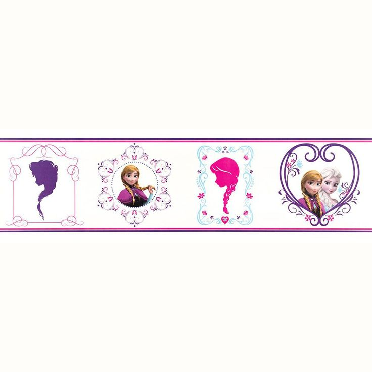 about disney frozen wallpaper borders and wall stickers cor girls room characters nursery