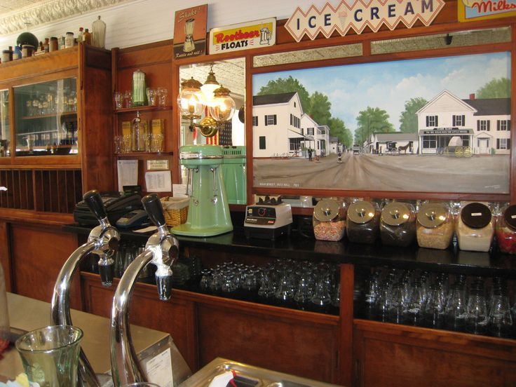 Vintage soda fountain for sale google search soda jerk for Old fashioned ice cream soda fountain