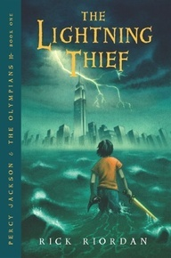 The Lightening Thief by Rick Riordan. Also pinning this for all five books in the series. Read these in third grade and, again, I still pick them up and love them. The movie, however, was not that great. I think they made Annabeth's hair blonde at least in the second movie .... Also not a fan of the continuement of this series with The Lost Hero. But I love Percy Jackson.