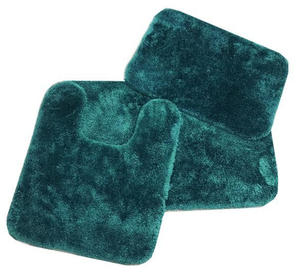 Royale Hunter Green Bath Rug Ensemble Bath Rugs Sets Bath Rug