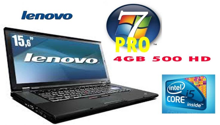 """FANTASTICO"" Lenovo ThinkPad T510 2530 MHZ 4 GB 500HD WIFI E WEBCAM CON GARANZIA 180 GIORNI"
