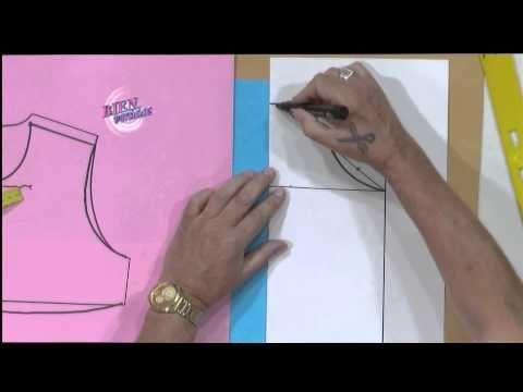 Hermenegildo Zampar - Bienvenidas en HD - Eenseña el molde del trasero para un vestido de niña. - YouTube