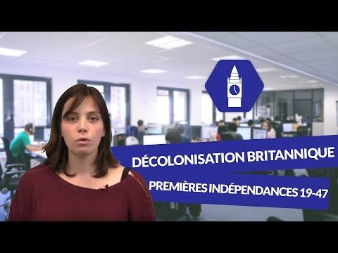 La décolonisation britannique : Les premières indépendances 1919 1947 - Anglais - digiSchool - YouTube