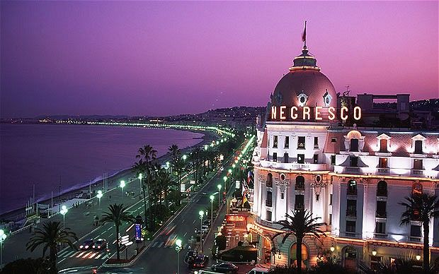 Nice, France...I can't wait to go here, ever since I seen the movie The Tourist