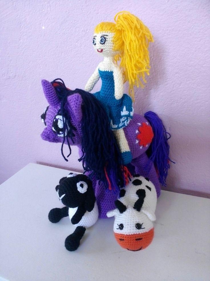 Pony prenses bebek inek koyun shaun