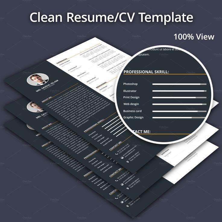 perfect #resume #cv for your #job getting, You can easily edit this resume using #msword cv design, new cv 2017, job cv design  Download this now:   https://crmrkt.com/0qgy