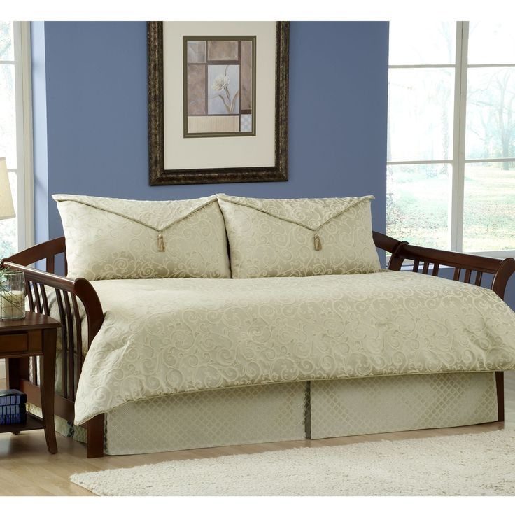 Best Daybed Images On Pinterest Daybed Daybed Bedding And - Blue and brown daybed comforter sets