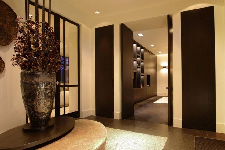 Van den Berg Interieurbouw - Private Residence Rotterdam - Luxe hal met woondecoratie