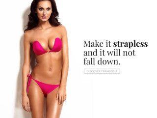 Frambosia - The Most Unique Strapless bikini! | Indiegogo