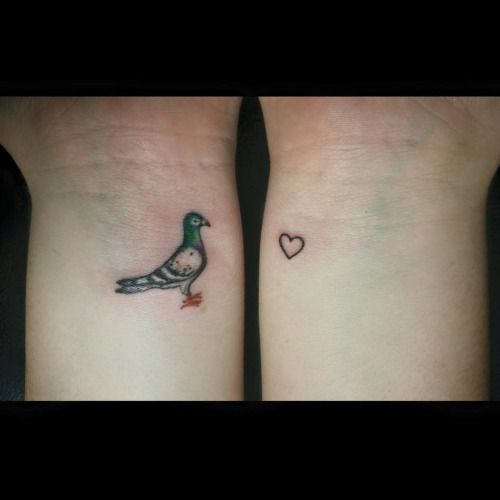 Image result for pigeon tattoos