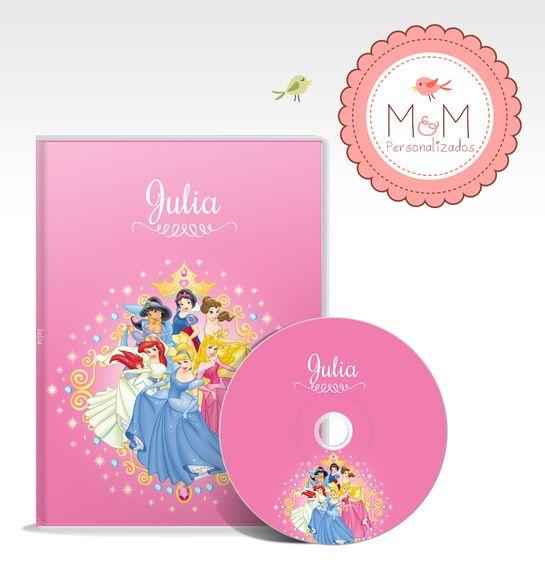 DVD + Capa Personalizados - Cinderela