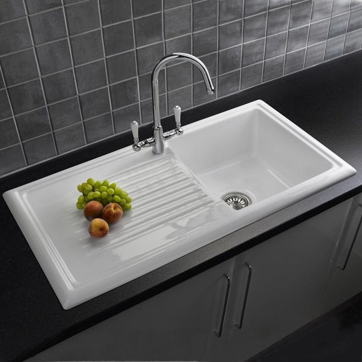 Reginox Single Ceramic Kitchen Sink + Tap Option
